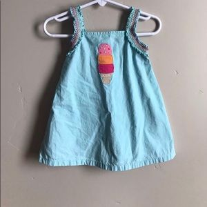 Gymboree 6-12m ice cream dress